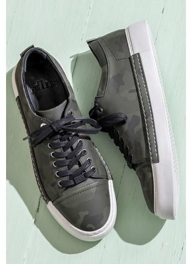 Elle Sneaker Ayakkabı Haki